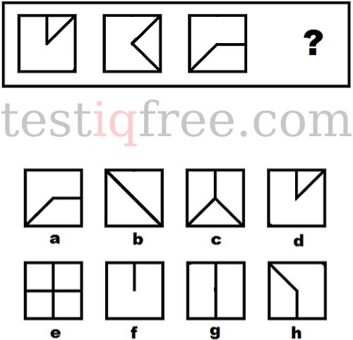 Câu hỏi test iq 20