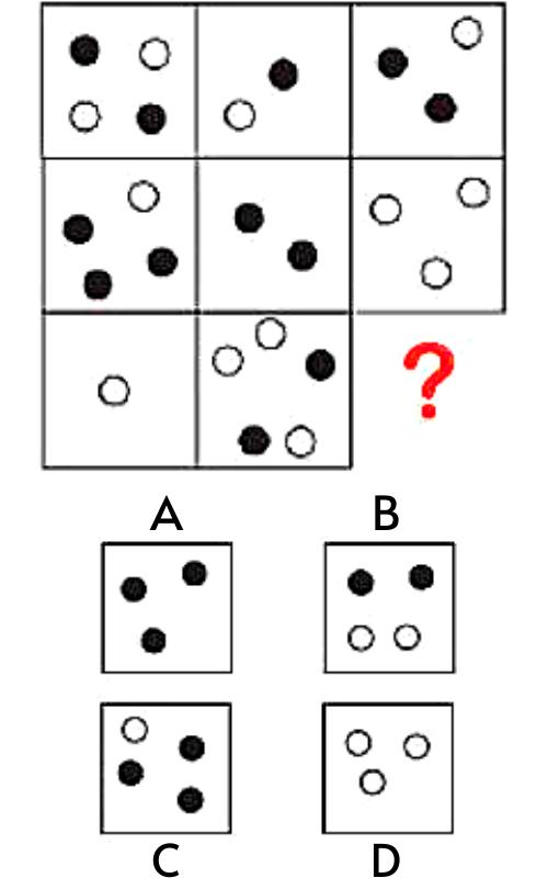Câu hỏi test iq 37